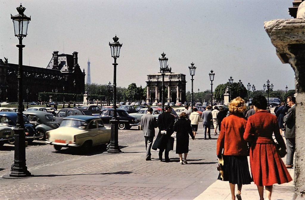 Le Louvre, 1962