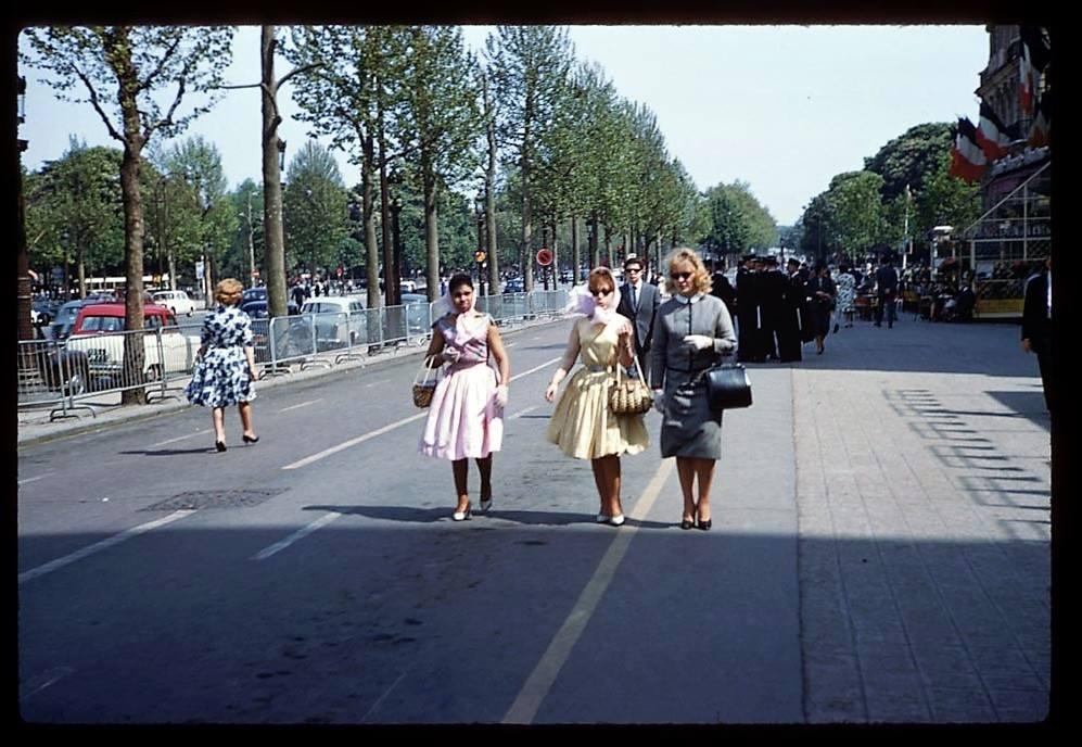 Champs-Élysées en 1960