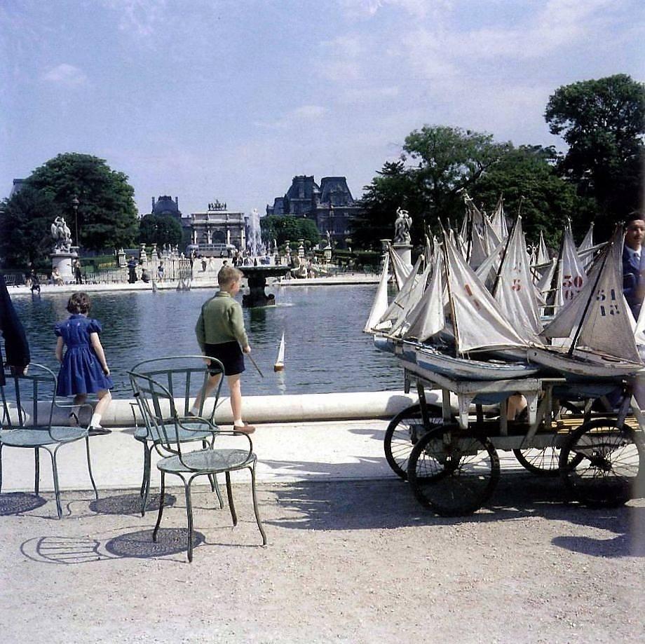 Jardin des Tuileries 1960