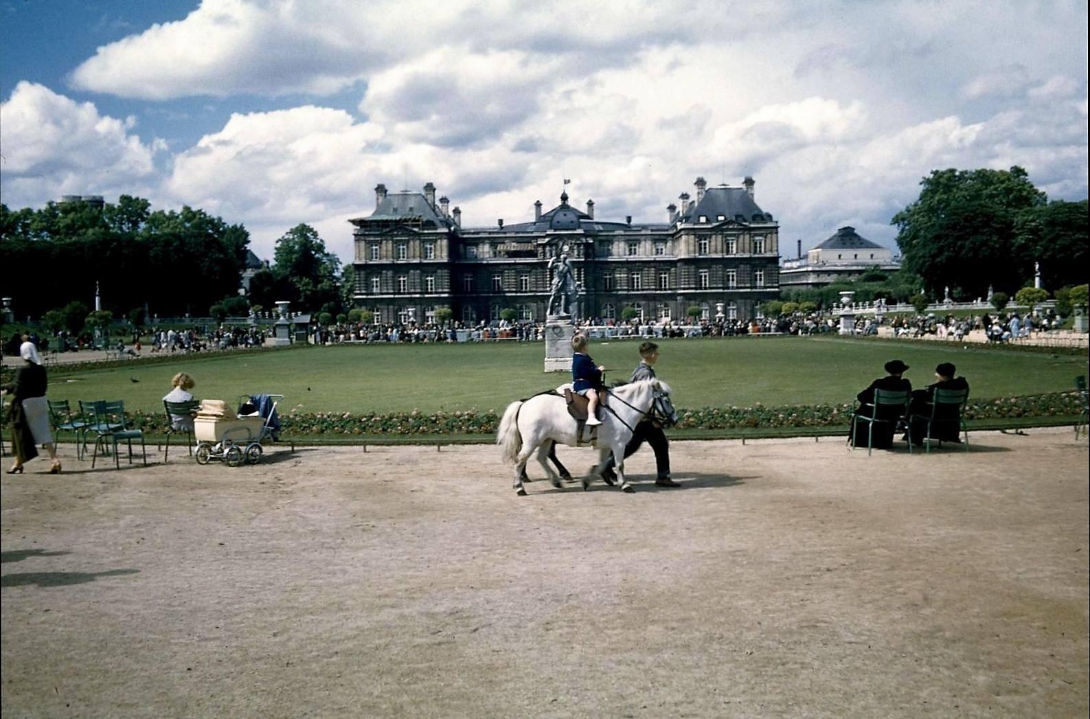 Jardin du Luxembourg 1962