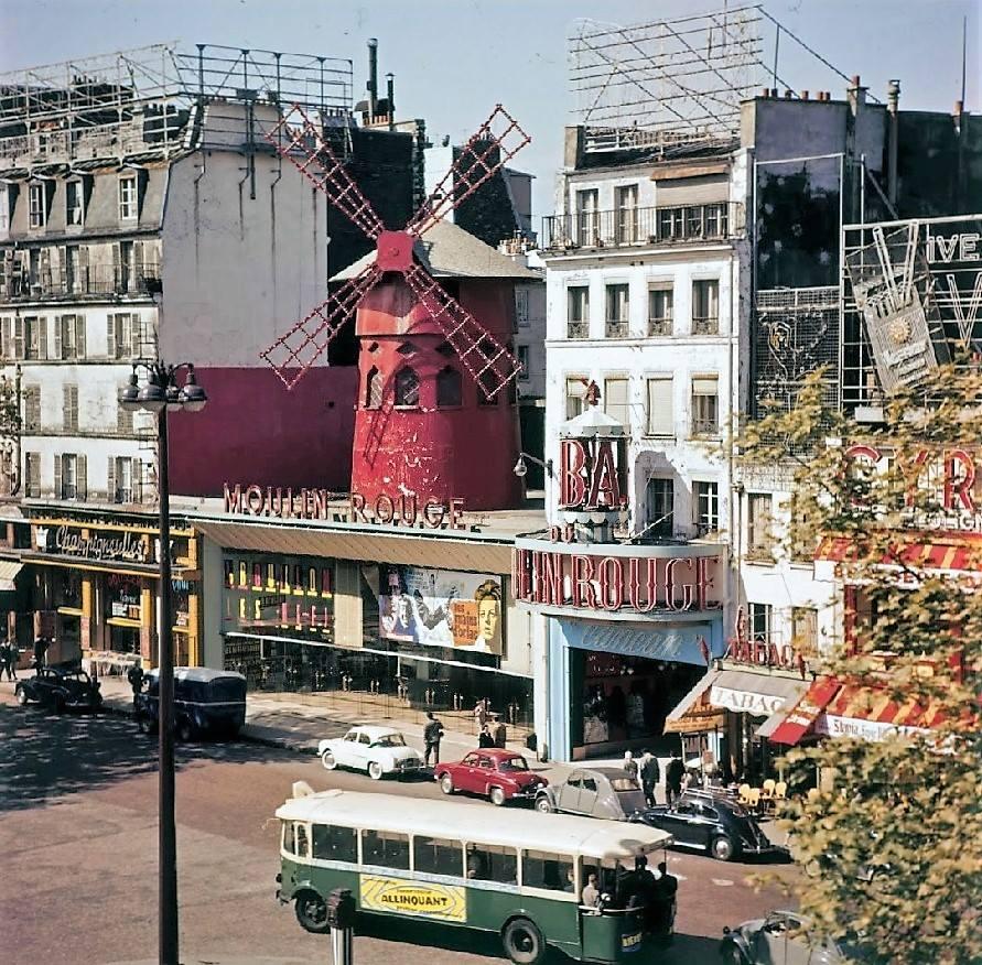 Moulin Rouge in 1960