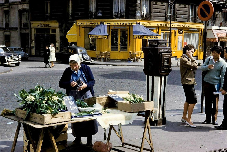 Rue Monge 1962