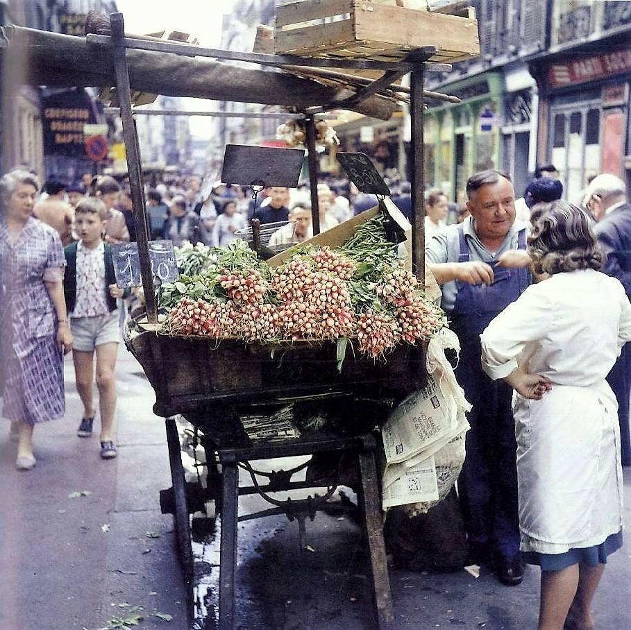 Rue Montorgueil, 1960