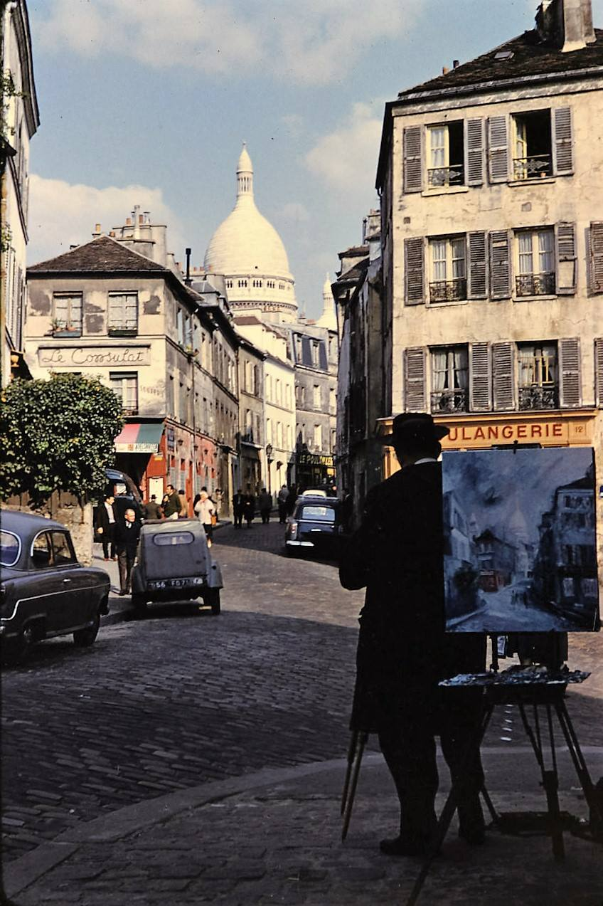 Rue Norvins, 1962