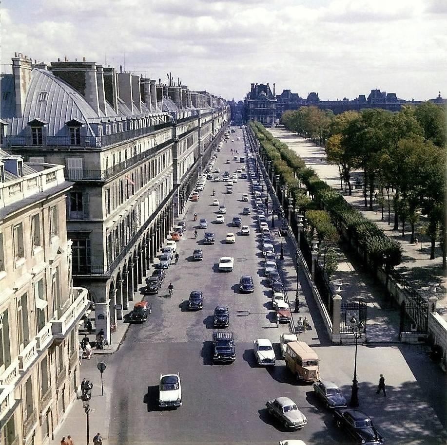 Rue de Rivoli 1960