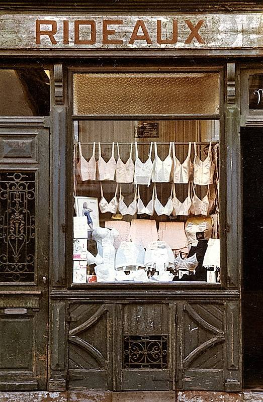 Un magasin de Lingerie