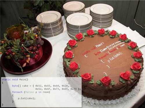 developer cake